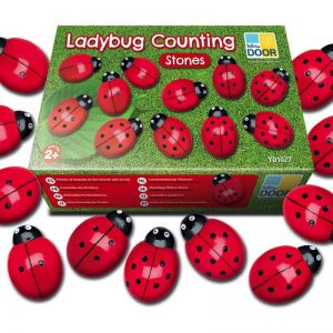 Ladybugs Counting Stones
