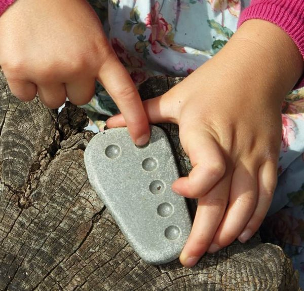 Tactile Counting Stones