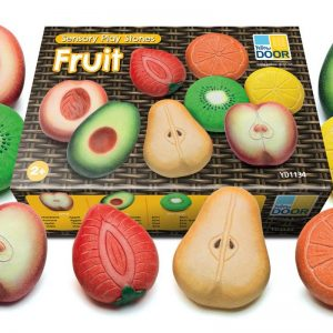 Sensory Play Stones Fruit