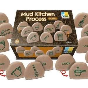 Mud Kitchen Process Stones