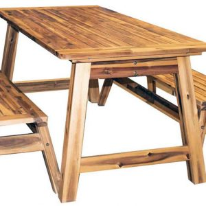 Acacia Play Picnic Table