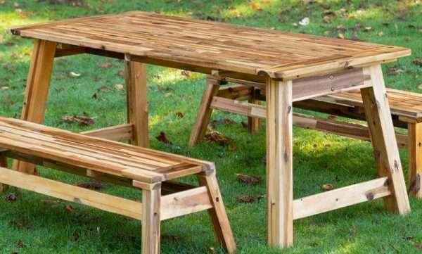 Acacia Play Picnic Table