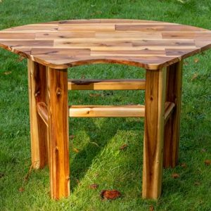Acacia Play Curved Play Table