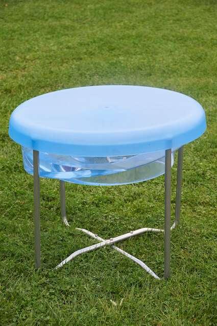 Circular Water Tray and Stand