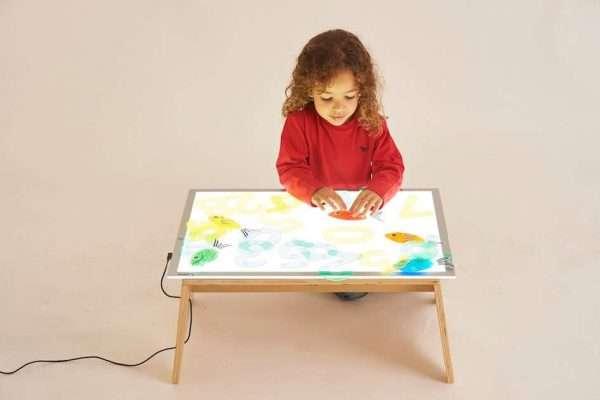 A2 Light Panel and Table Set