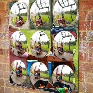 Acrylic Mirror 9 Convex