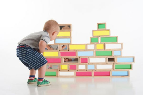 Rainbow Bricks - Pk36