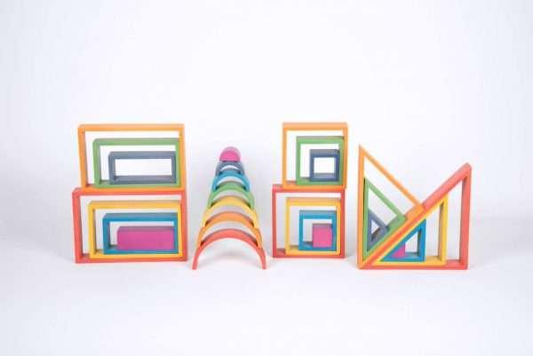 Rainbow Architect Set - Pk28