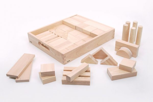 Wooden Jumbo Block Set