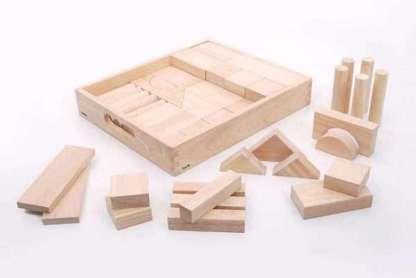 Wooden Jumbo Block Set - Pk54
