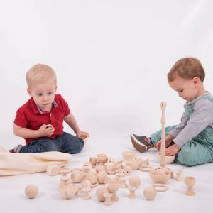 Wooden Heuristic Play Starter Set