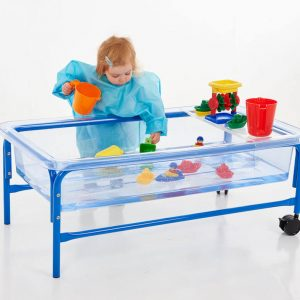 Clear Water Tray - 40cm Blue Stand