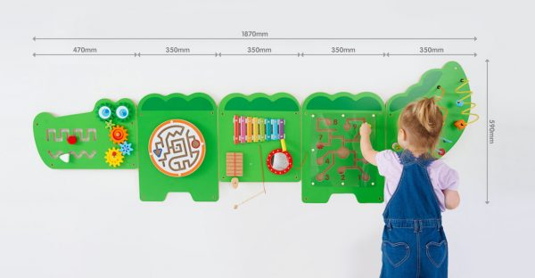 Crocodile Activity Wall Panels