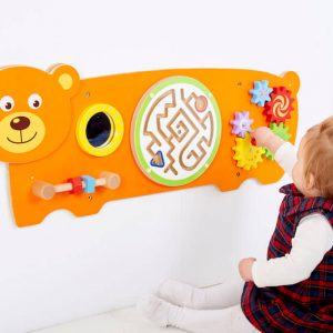 Bear Activity Wall Panel