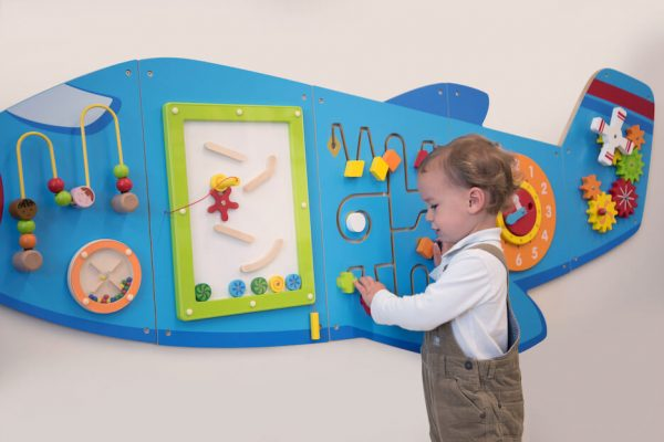 Aeroplane Activity Wall Panels