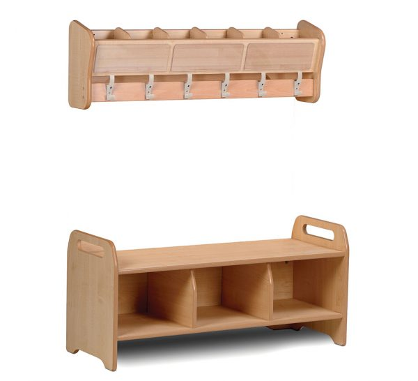 Wall Mounted Cubby Set