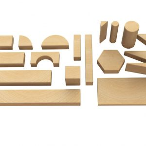 Solid Wood Building Blocks
