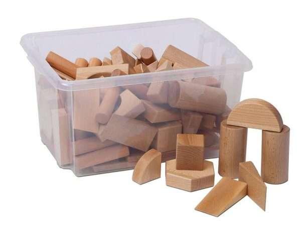 Solid Wood Building Blocks