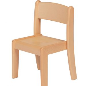 Beech Stacking Chair