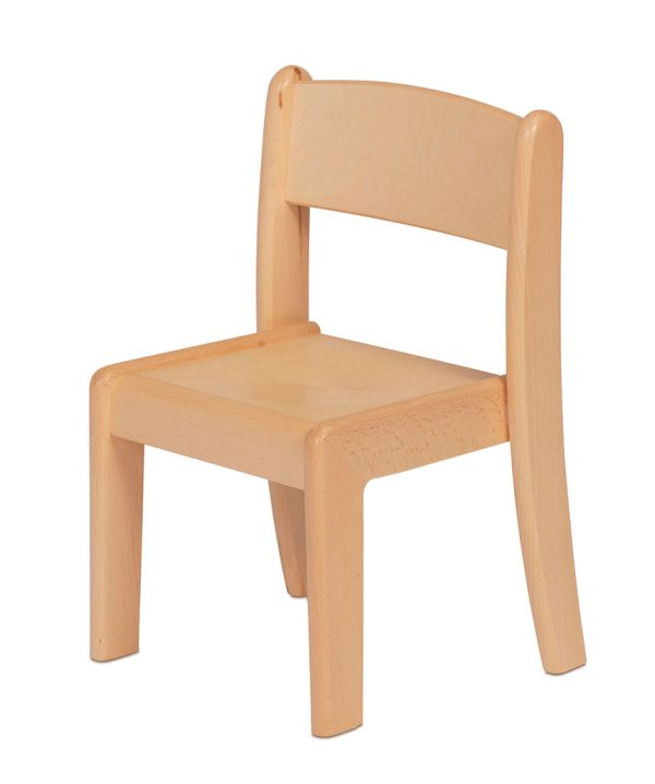 Beech Stacking Chair 4 Pack