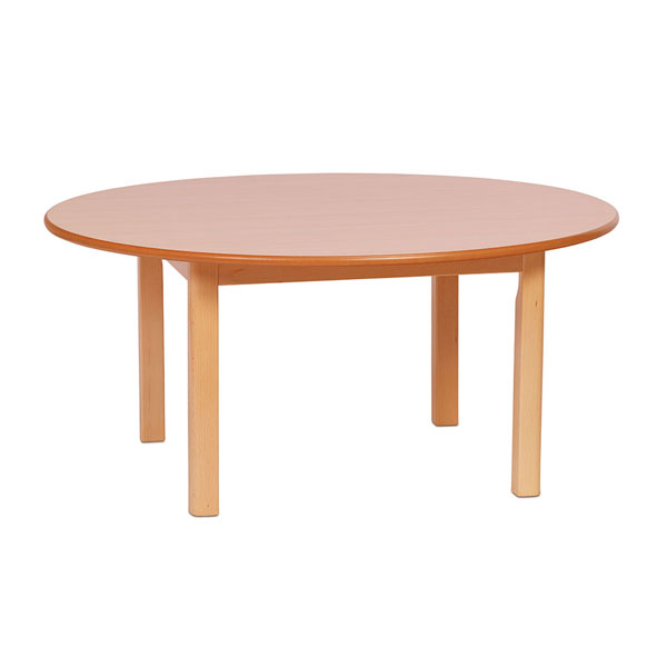 Circular Table and 4 Sturdy Chairs