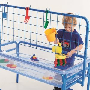 Clear Water Tray With Activity Rack