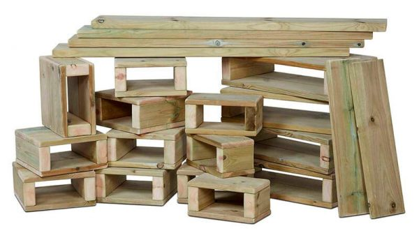 Outdoor Building Block Set (22 piece)