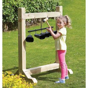 Outdoor Cowbell Frame