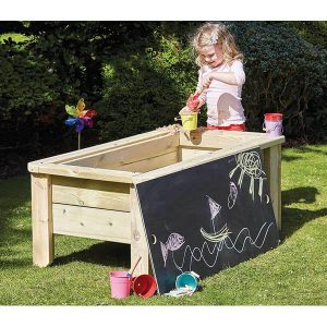 Outdoor Raised Sandpit