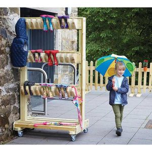 Outdoor Double-sided Welly Storage