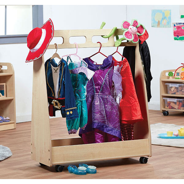 Basic Dressing up Trolley & Free Standing Mirror