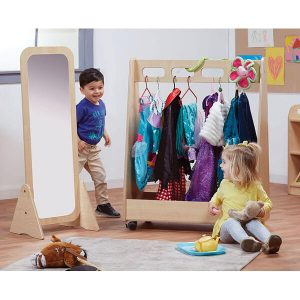ressing Up Trolley and Free Standing Mirror