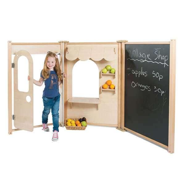 Maple Panel Shop Set