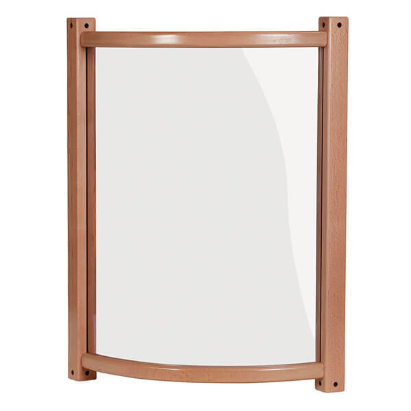 Clear Curved Toddler Panel