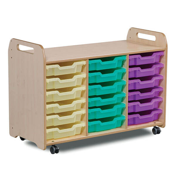 3 Column Tray Storage Unit (H730mm)