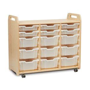 3 Column Tray Storage Unit (H900mm)