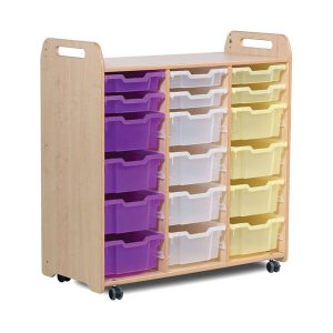 3 Column Tray Storage Unit (H1080mm)