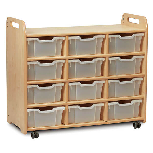 3 Column Shelf Storage