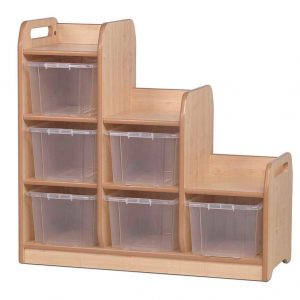 Stepped Storage LH Tubs
