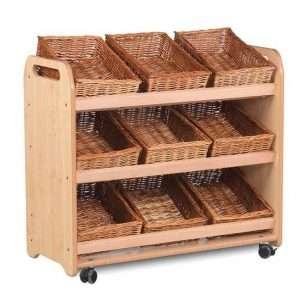 Tilt Tote Storage 9 baskets