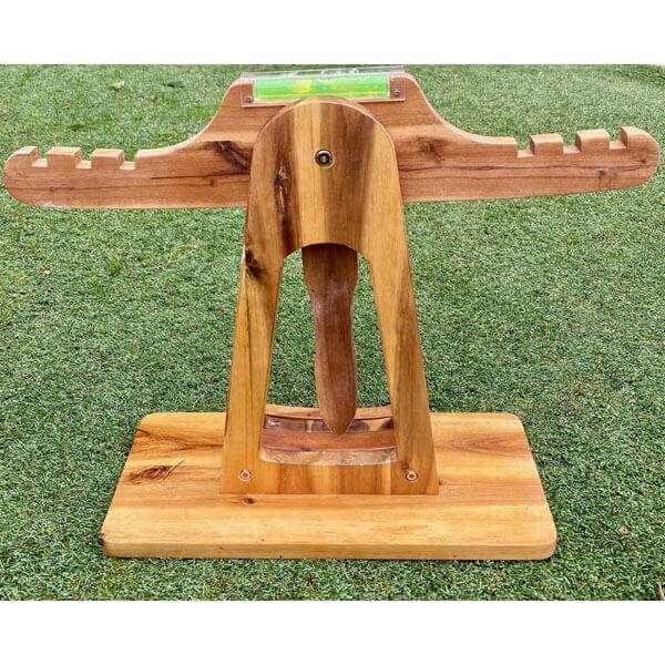 Acacia Wooden Balance Scales