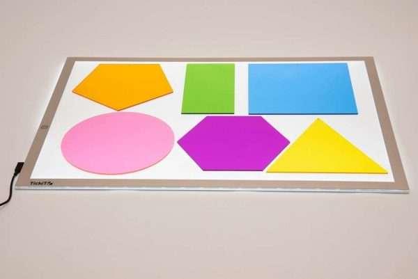 Jumbo Colour Mixing Shapes