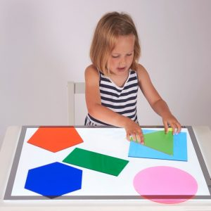 Jumbo Colour Mixing Shapes - Pk6