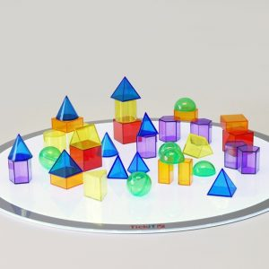 Translucent Geometric Shapes - Pk36
