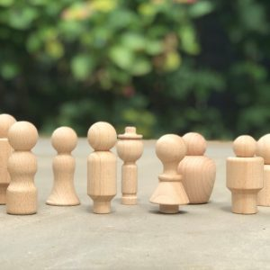 Wooden Community Figures - Pk10