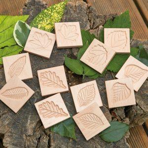 Match Me – Sensory Leaf Tiles