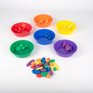Coloured Sorting Bowls