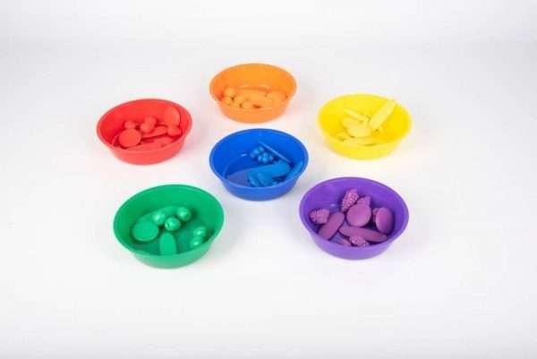 Coloured Sorting Bowls