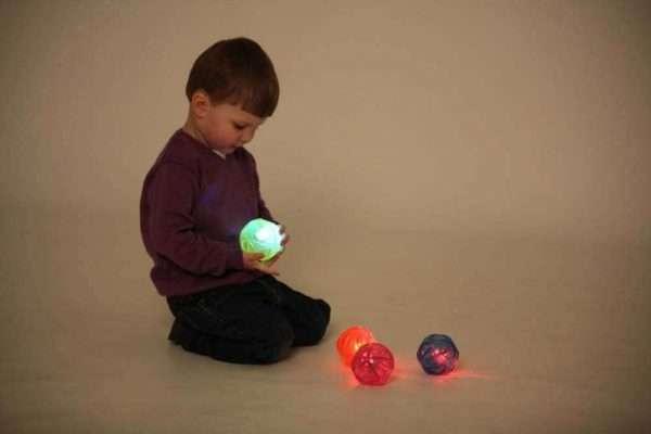 Sensory Flashing Balls (Irregular Bounce) PK 4