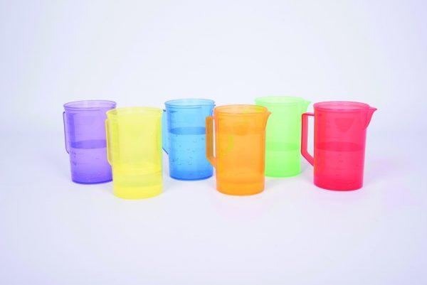 Translucent Colour Jugs